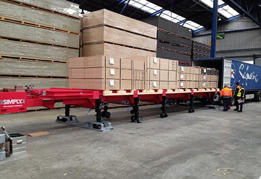 Container Beladung von SIMPLY. Einfach, sicher und schnell.